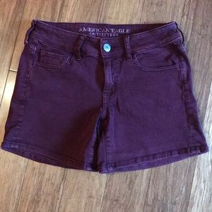 American Eagle twill shorts size 4